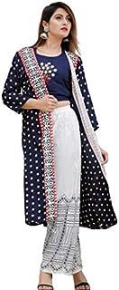 Kanshi Women's Rayon Readymade Salwar Suit