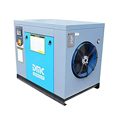 HPDMC 10-HP Rotary Screw Compressor - 40 CFM / 115 PSI - 230 Voltage / 60Hz / 3-Phase - Industrial Air Compressed System with Spin-on Air Oil Separator from HPDMC