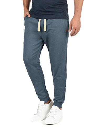 Blend Tilo Herren Sweatpants Jogginghose Sporthose Mit Fleece-Innenseite Und Kordel Regular Fit, Größe:XXL, Farbe:Ensign Blue (70260)