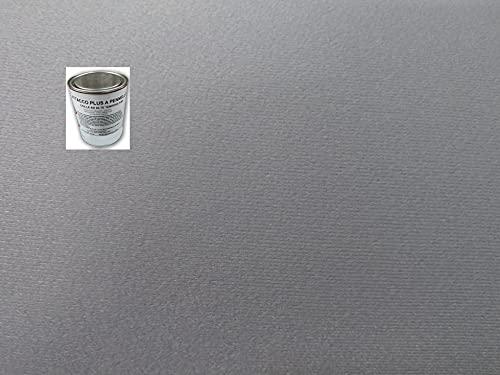 KIT rivestimento tessuto cielo auto grigio chiaro originale + colla alta temperature (2 metri + colla)