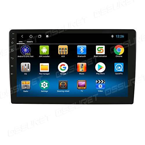 Android 10 Universal Autoradio 10,1-Zoll-HD-Touchscreen Multimedia Player GPS Navigation im Auto Bluetooth WiFi Hotspot Dab+