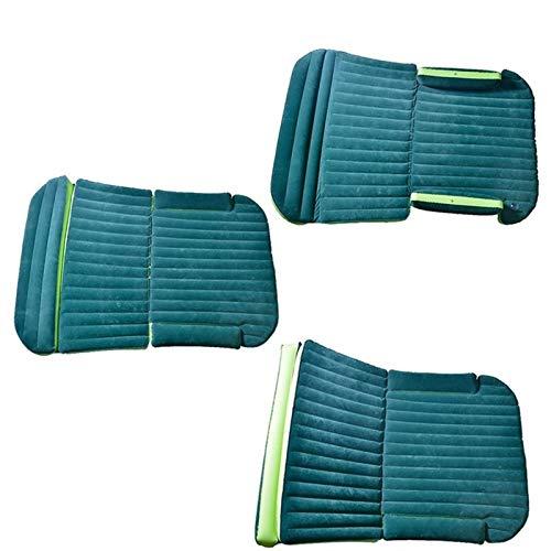 Colchón Impermeable e Hinchable,190 * 130 * 16cm Cama de viaje de coche Colchón inflable para colchón para colchón de aire acampado Cama inflable al aire libre camping al aire libre Cama