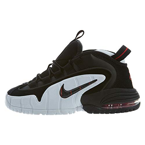 Nike Air Max Penny LE Big Kids' Shoes Black/White/University Red 315519-007 (7 M US)
