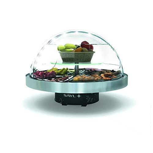 Buffet Réfrigéré Dôme Vision 360 Libre Service - 950x750 mm - SAYL -