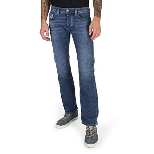 Diesel Straight-Cut Stretch Jeans Larkee 084UH Dark Blue