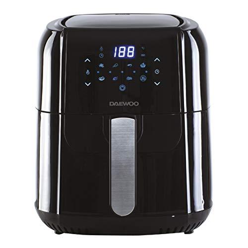 Daewoo SDA1804 5.5L Digital Air Fryer, Healthy Low Fat No Oil Cooking,...