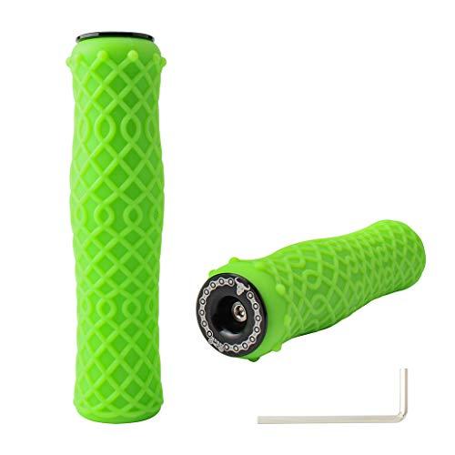MUQZI Bike Handlebar Grips Non-Slip-Silica gel Bicycle Handle Grip Mountain...