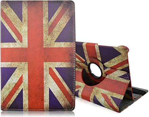 Samsung Galaxy Tab S2 9,7 inch tablets hoesje 360° draaistand Britse Vlag - nTech