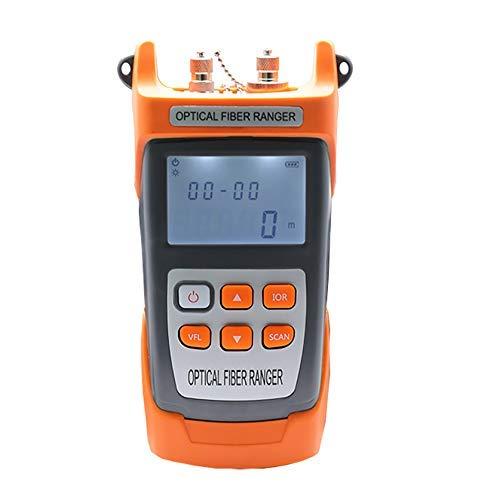 Fotingstarcase OTDR portátil probador de fibra óptica Longitud punto de interrupción de obstáculos Buscador de detección de fallas por cable de fibra óptica del instrumento óptico de medición de dista
