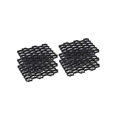 OSE Stabilisateur de Gravier Dalles - par 6 Noir 3.8 cm