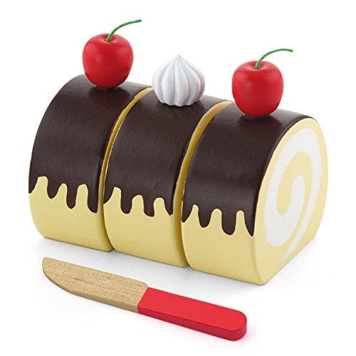 VIGA Toys–51323–Taglio Torta–Swiss Roll