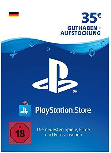 PSN Guthaben-Aufstockung | 35 EUR | deutsches Konto | PSN Download Code