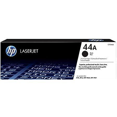 HP 44A CF244A Cartuccia Toner Originale, Compatibile con Stampanti HP LaserJet Pro M15, M28f e MFP M28w, Nero