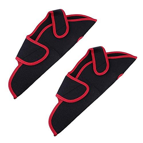 MiOYOOW 2 envolturas de marco de toalla de sudor, cubierta de marco antideslizante, protección contra el sudor para bicicleta de ejercicio