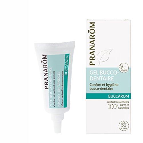 Pranarôm | Buccarom Gel | Confort Et Hygiène Bucco-Dentaire Bio | Aux Huiles Essentielles Biologiques | 15 g