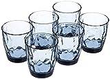 Bormioli Rocco - Juego de 6 Vasos de Agua Diamond 30,5 cl