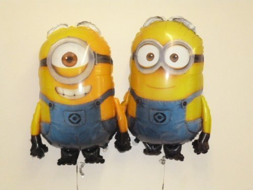 Set Of 2 - 30 Despicable Me Minion Foil Balloons Dave And Stuart (CS126+CS141) by Balloonshop