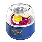 SJTL Yogurtera Electrica, 2 Liter, Yogurtera con Termostato, 2L Hecho en casa Automático Fabricante de Yogur Crema Eléctrica Máquina Herramienta [Clase de eficiencia energética A++]