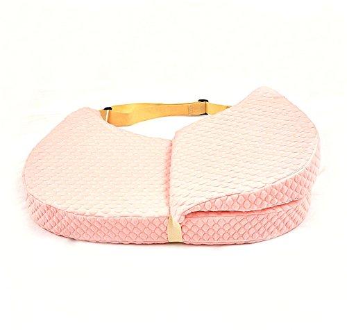 Lvbeis Cuscino per Allattamento Regolabile Lavabile,Pink
