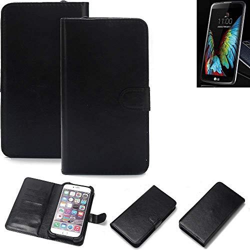 K-S-Trade® Handy Schutz Hülle Für LG Electronics K10 (3G) Schutzhülle Bumper Schwarz 1x