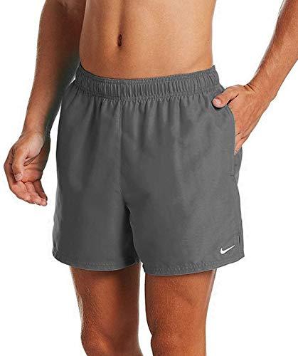 Nike 5 Volley Short, Costume da Bagno Uomo, Grigio Ferro, M