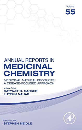 Compare Textbook Prices for Medicinal Natural Products: A Disease-Focused Approach Volume 55 Annual Reports in Medicinal Chemistry, Volume 55 1 Edition ISBN 9780128210192 by Sarker, Satyajit Dey,Nahar, Lutfun