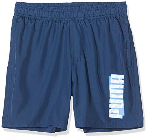 PUMA Jungen ESS+ Summer B Shorts, Dark Denim, 116