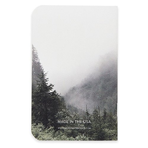 Word. Notebooks Mist - 3-Pack Small Pocket Notebooks Photo #3