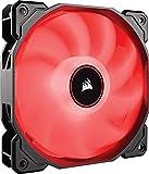 VENTI. CAJA CORSAIR AF120 LED ROJO LOW NOISE SINGLE PACK CO-9050080-WW CORSAIR AIR CO-9050080-WW, CARCASA DEL ORDENADOR, VENTILADOR, 12 CM, 1400 RPM, 26 DB, 52 CFM