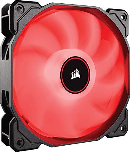 VENTI. CAJA CORSAIR AF140 LED ROJO LOW NOISE SINGLE PACK CO-9050086-WW CORSAIR AIR CO-9050086-WW, CARCASA DEL ORDENADOR, VENTILADOR, 14 CM, 1150 RPM, 26 DB, 62 CFM