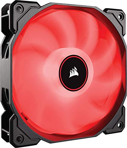Corsair Af120 LED Low Noise Cooling Fan Single Pack - Red Cooling CO-9050080-WW