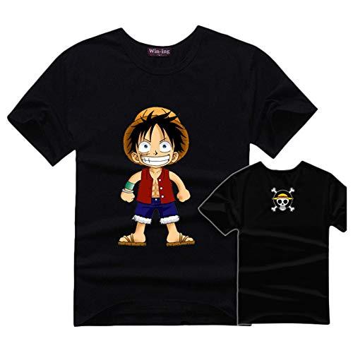 Camiseta One Piece, 3D Luffy Zoro Ace Anime Cosplay T-Shirt Moda One...
