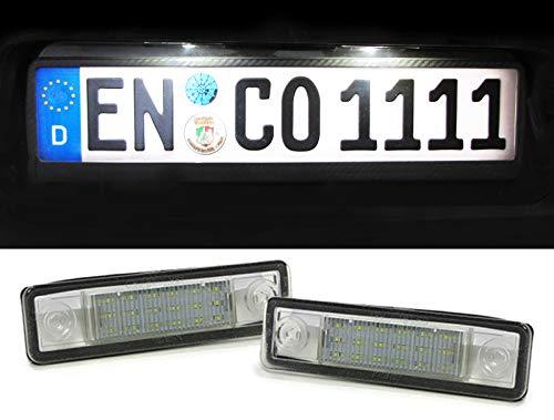 Carparts-Online 26221 LED Kennzeichenbeleuchtung weiß 6000K