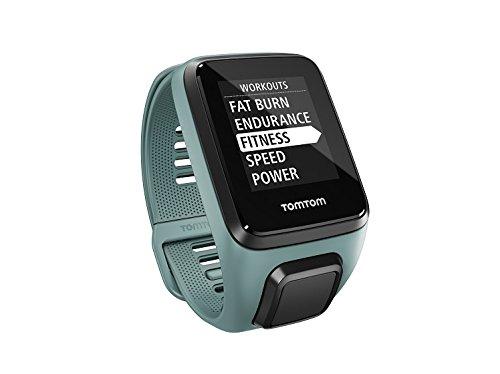 TomTom Spark 3 Cardio+Music - Reloj Deportivo Aqua (Talla pequeña)