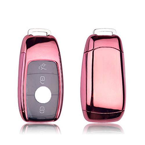 KLVRD Sleutelhanger Voor TPU+PC Auto Sleutelhoes Behuizing Beschermend Voor Mercedes Benz 2017 E Klasse W213 2018 S Klasse AMG Accessoires Styling