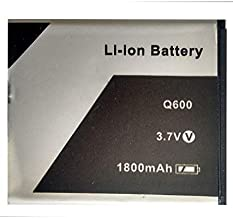 CRAXDEALS Compatible Mobile Battery ForQ600 Battery/Xolo Q600