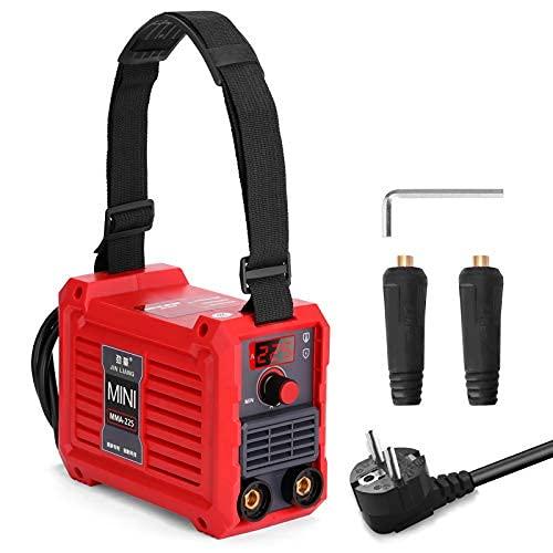 Weytoll MMA225 Soldador Inverter Máquina de Soldadura Eléctrica 20-225A, 220V IGBT(Rojo)