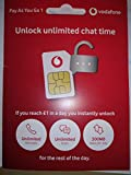 Vodafone PAYG SIM- Incluye NANO/MICRO & STANDARD SIM - para Iphone 4, 4S, 5, 5S, 5C, 6, 6S, 6 GALAXIA S3, S4, S5, S6, S6-Edge/ CUALQUIER Nokia Dispositivo/Cualquier HTC/LG dispositivo- Sin límite Llamadas, Texto & Datos  MÓVILES DIRECTS COMMUNICATIONS LTD