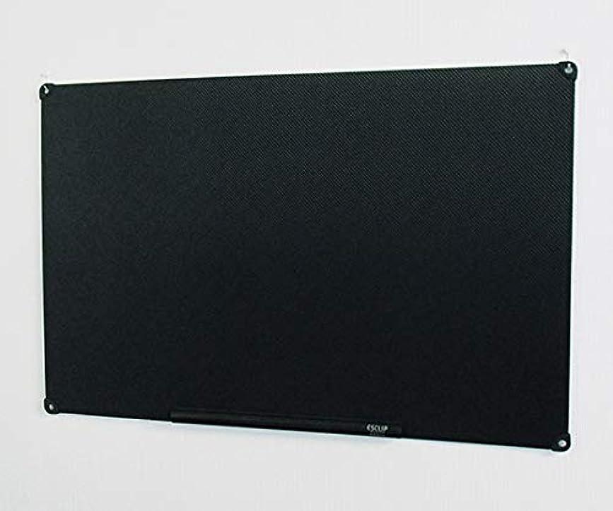 湖マリンキャリアアズワン 静電気吸着式掲示板 ESCLIP(R) 1000×650×3mm 黒/3-9631-02