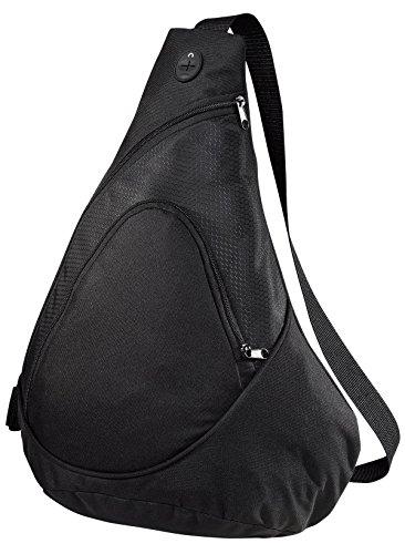 Port & Company Honeycomb Sling Pack, Black, One Size