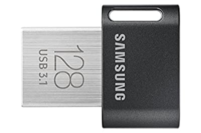 Samsung FIT Plus USB 3.1 Flash Drive 128GB - (MUF-128AB/AM)