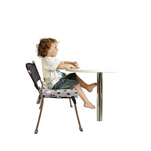 JOYIN, cuscino rialzo da sedia per bambini, tessuto Oxford, smontabile, regolabile, comodo e facile da pulire
