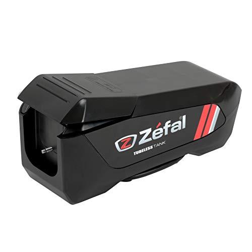 Zefal Unisex– Erwachsene Tubeless Tank Standpumpe, schwarz, Einheitsgröße