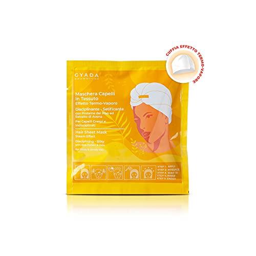 GYADA COSMETICS Maschera Capelli in Tessuto - Disciplinante e Setificante - 60 ml