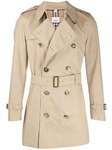 Luxury Fashion | Burberry Heren 8015236 Beige Katoen Trenchcoats | Seizoen Permanent