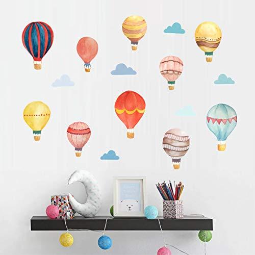 hot air balloon decal - 8