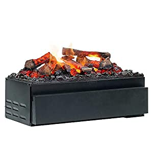 DIMPLEX Cassette Juneau Built-in Fireplace Eléctrico Negro Interior – Chimenea (230 V, 50 Hz, 250 W, 250 W, 250 W, 562 mm)