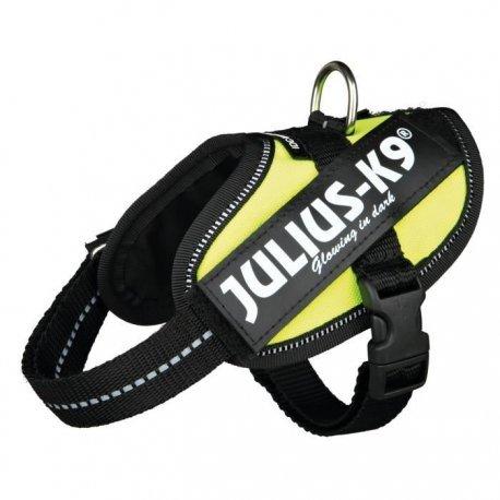Julius Geschirr K9Klettsticker Power IDC Baby 2/XS? S: 33? 45cm Neongelb für Hunde