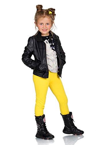 Leggins amarillos niña - Cálidos y Gruesos - Algodón