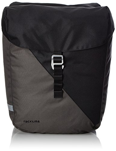 Racktime Vida Doppeltasche, schwarz, 35 x 28 x 26 cm